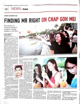New Strait Times: Finding Mr Right On Chap Goh Mei