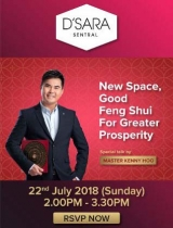 New Space, Good Feng Shui for Greater Prosperity