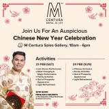 Join Us For An Auspicious Chinese New Year Celebration