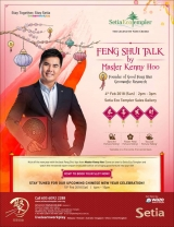 Setia Eco Templer Feng Shui Talk by Master Kenny Hoo Founder of Good Feng Shui Geomantic Research