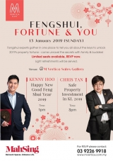 FENGSHUI, FORTUNE AND YOU